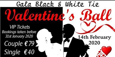 Cork Events Black & White Valentine's Ball 2020 tickets