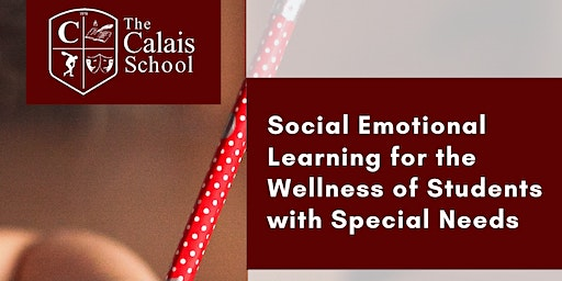 Social Emotional Learning For Wellness of Students with Special Needs