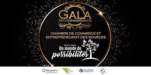 Gala reconnaissance 2020 de la CCES : Un monde de possibilités!