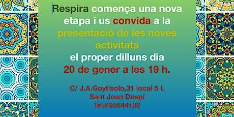 PRESENTACIÓ ACTIVITATS GESTALT, MÓN CONSCENT i REIKI tickets