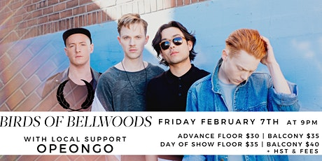 Birds of Bellwoods (support: Opeongo) tickets