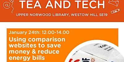 Tea & Tech - Using comparison websites to save  mo