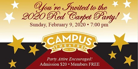 2020 Red Carpet Party tickets