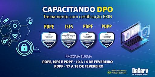 CERTIFICAÇÃO EXIN CAPACITAÇÃO DPO / LGPD | FEVEREIRO