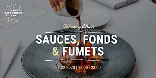 [Culinary Class] Apprenez à réaliser vos sauces, fonds et fumets