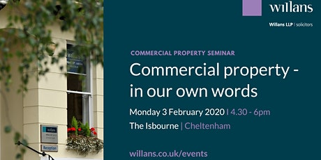 Commercial property - in our own words tickets