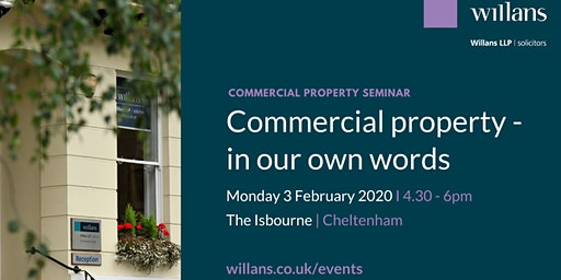 Commercial property - in our own words