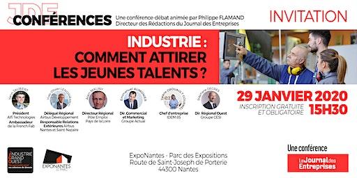 """Conférence-débat """"Industrie : comment attirer les jeunes talents ?"""""""