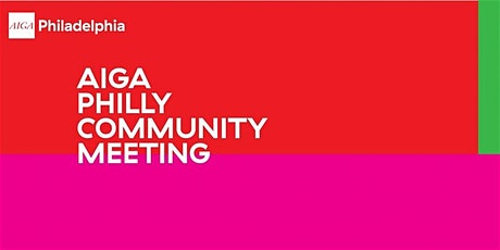 Community Meeting: Representation in the Design Community tickets