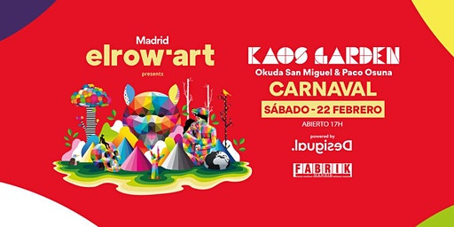 elrow´ art en FABRIK