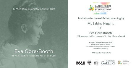 Eva Gore-Booth | Exhibition Opening by  Sabina Higgins | Lá Fhéile Bríde | tickets
