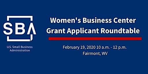 Women's Business Center Grant Applicant Roundtable