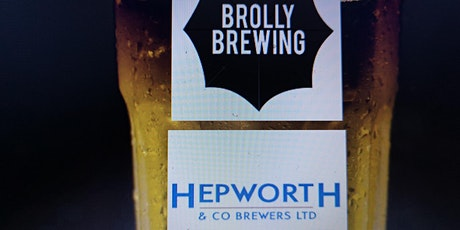 Hepworth & Brolly Brewery Tour, Tasting, Transport & Lunch tickets