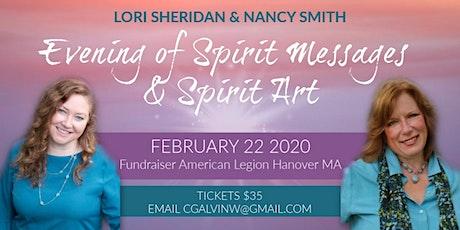 Evening of Spirit Messages & Spirit Art tickets