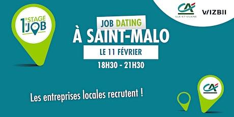 Job Dating Saint-Malo : décrochez un emploi dans votre région ! tickets