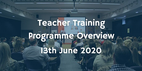 Teacher Training Programme Overview tickets