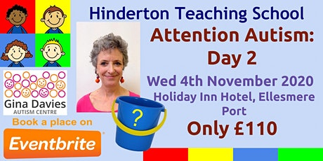 Gina Davies Attention Autism Day 2 tickets