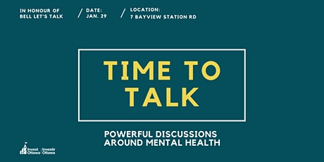 Time to Talk: Powerful Discussions Around Mental Health tickets