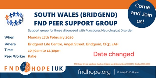 South Wales (Bridgend) FND Peer Support Group
