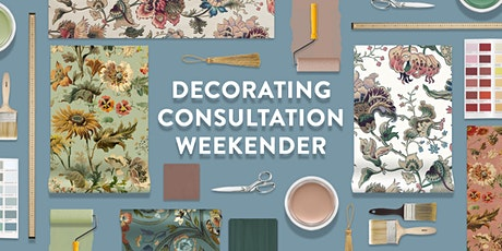 Decorating Consultation Weekender tickets