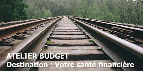 Atelier Budget (Mai 2020) billets