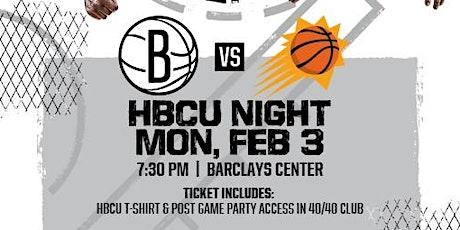 HBCU NIGHT @ THE BARCLAYS; Brooklyn Nets vs. Phoenix Suns tickets