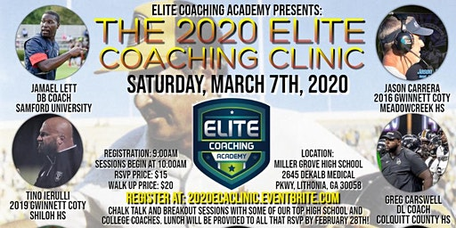 The 2020 Elite Coaching Academy Clinic