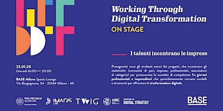 WTDT on stage. I talenti incontrano le imprese biglietti