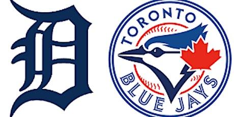 Tigers vs Blue Jays June 13th, 2020 tickets