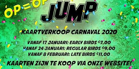 JUMP MAANDAGAVOND tickets