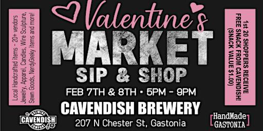 Valentine's Market Sip & Shop