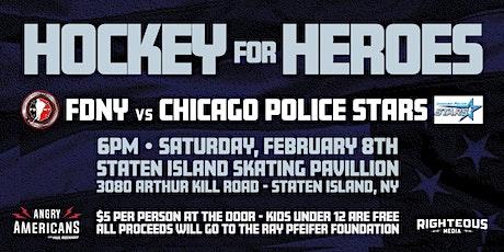 FDNY Hockey Team vs Chicago Police Stars tickets