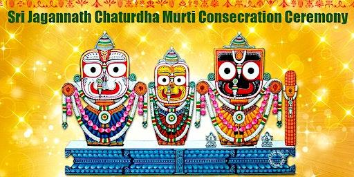 Shri Jagannath Chaturdha Murti Consecration Ceremony