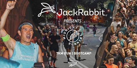JACKRABBIT Presents: Midnight Runners 7k Bootcamp with Reebok tickets