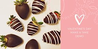 Valentine's Day Make & Take Demo