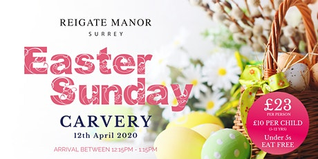 Easter Sunday Carvery at Reigate Manor tickets
