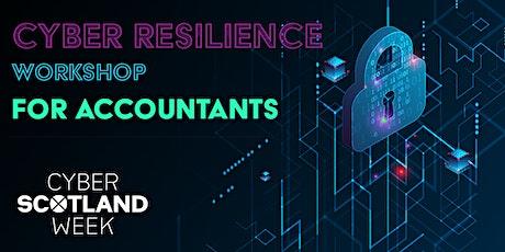 Cyber Resilience Workshop for Accountants - Edinburgh tickets