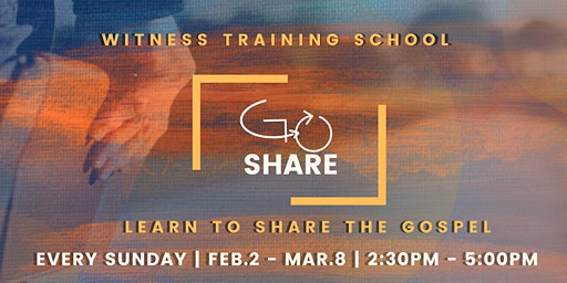 Go Share - Witness Training School - 6 Week Training