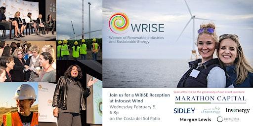 WRISE Reception at Infocast Wind