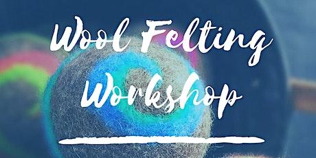 Wool Felting Workshop tickets