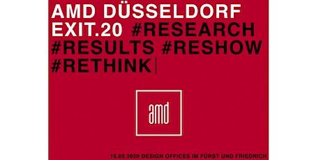 EXIT.20 – Graduate Event Düsseldorf Tickets