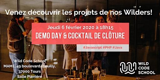 Wild Démo & cocktail de clôture Promotion Septembre 2019