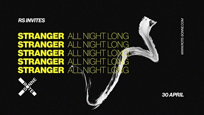 Stranger *all night long | at Rote Sonne Tickets