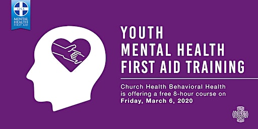 Youth Mental Health First Aid Training: March 2020