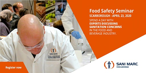 Ontario Food Safety Seminar  hosted by Sani Marc
