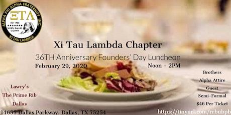 Xi Tau Lambda 36th Anniversary Chapter Luncheon tickets