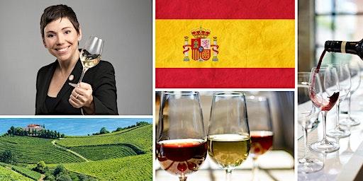 Spanish Wine Tasting with Canadian Master Sommelier Élyse Lambert