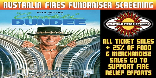 CROCODILE DUNDEE - Fundraiser Screening for Australia Fires Relief