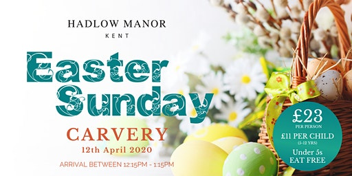 Easter Sunday Carvery at Hadlow Manor