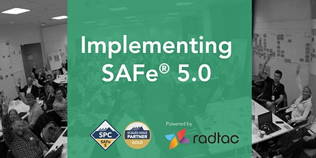 Implementing SAFe® 5.0 with SAFe Program Consultant (SPC5) tickets